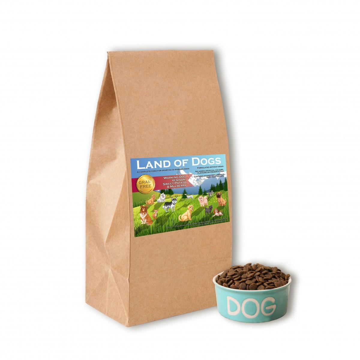 Grain Free Venison Dry Dog Food
