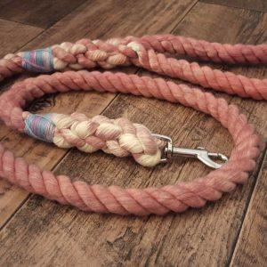 Big Dog Rope Lead - Raspberry Ripple