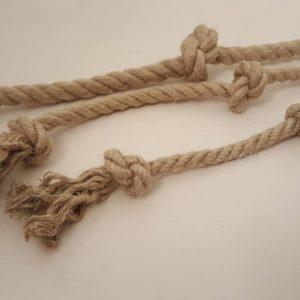 Hemp Dog Toy - Triple knot rope toy