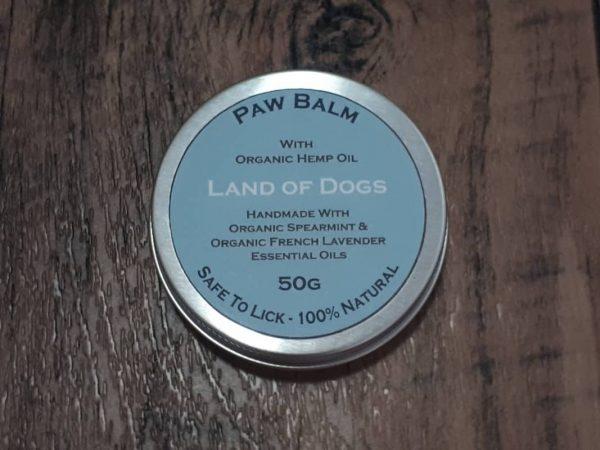 Organic Dog Paw Balm - Spearmint & French Lavender